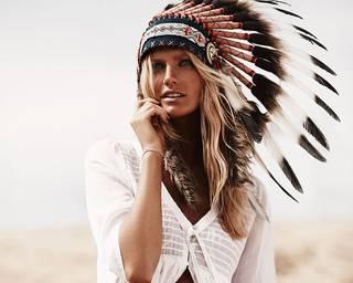 Grande fille des prairies